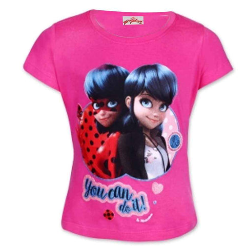 Girls Official Licensed Miraculous Ladybug Tshirt Age 4 to 10 Years