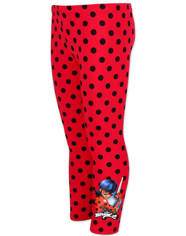 Girls Official Miraculous Ladybug Girls Legging Tights