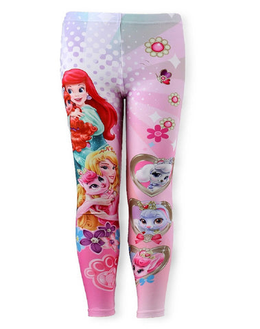 Disney Princess Girls Legging Tights Age 3 to 8 Years - Character Direct
