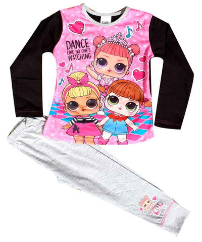 Official Licensed Girls LOL Surprise Dolls Pyjama Set Age 4 to 10 Years