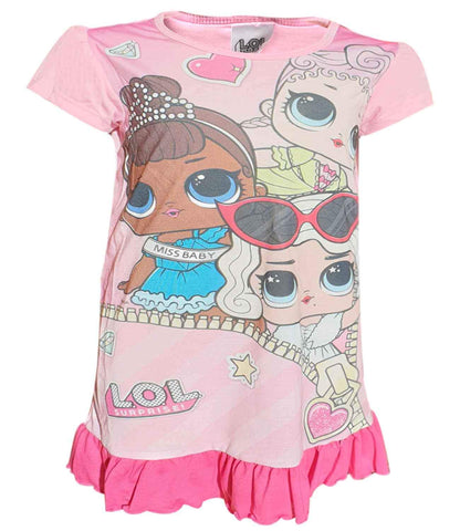 Girls Lol Surprise Dolls Nightwear Nightdress - Character Direct