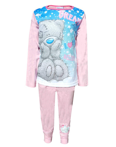 Me to You Tatty Teddy Girls Long Length Pyjama  Age 5-12 Years - Character Direct