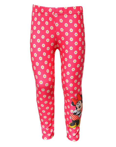 Disney Minnie Mouse Girls Legging Tights Age 3 to 8 Years - Character Direct