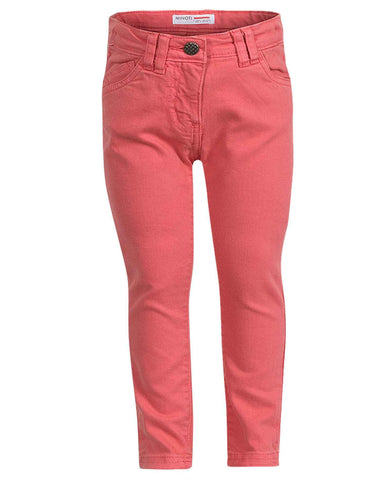 Minoti Girls Cotton Denim Skinny Jeans Age 3 to 8 Years