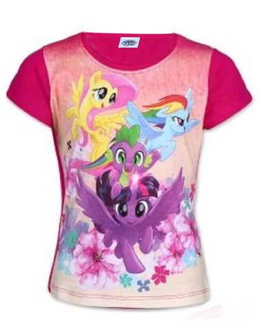 Girls Official Licensed My Little Pony Tshirt Age 2 to 6 Years