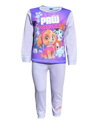 Girls Offical Licensed Paw Patrol Skye Everest Marshall Print Pyjamas Age 1.5 to 5 Years