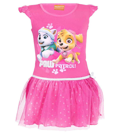 Girls Paw Patrol Costume Dress Age 3 to 8 Years