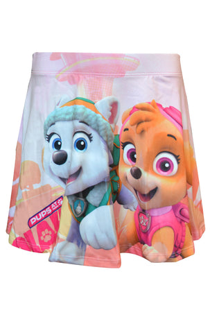 Girls Official Paw Patrol Overall Printed Skirt Age 3 to 8 Years