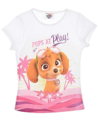Girls Official Paw Patrol Skye Tshirt Top Age 2-6 Years