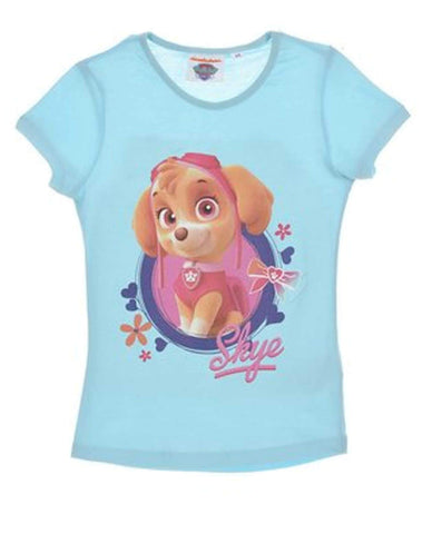 Girls Official Paw Patrol Skye Tshirt Top Age 2-6 Years - Character Direct
