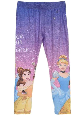 Girls Official Licensed Disney Princess Legging Tights Age 2 to 6 Years - Character Direct
