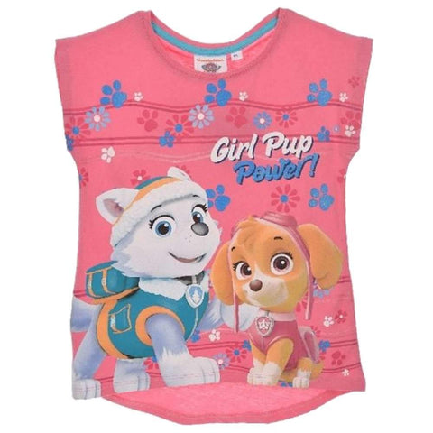 Girls Official Paw Patrol Skye Tshirt Top Age 2 to 6 Years - Character Direct