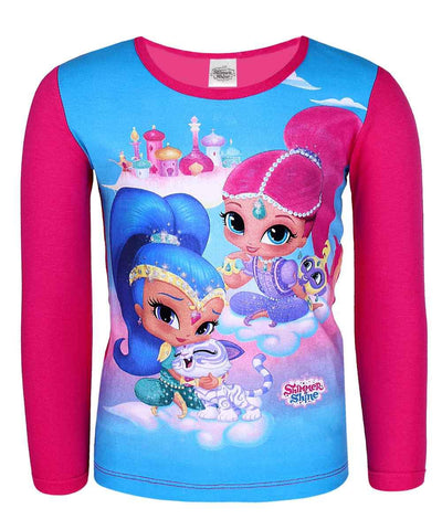 Girls Shimmer & Shine T-Shirt - Character Direct
