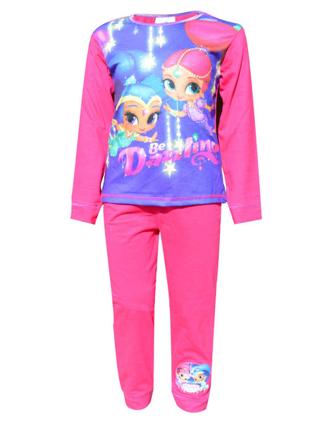 Girls Official Licensed Shimmer & Shine Pyjamas Age 1 to 5 Years - Character Direct
