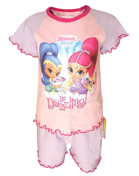 Girls Official Licensed Shimmer & Shine Pyjamas Age 1 to 4 Years - Character Direct