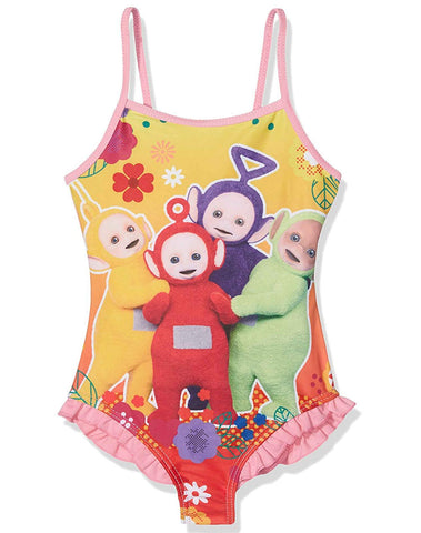 Girls Teletubbies Official Licensed Swimming Costume Swimwear Age 2 to 6 Years - Character Direct