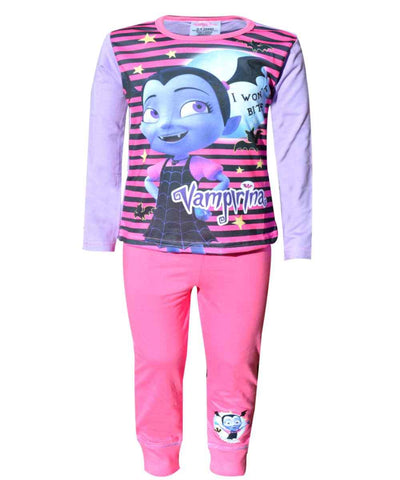Girls Official Licensed Vampirina Long Length Pyjamas