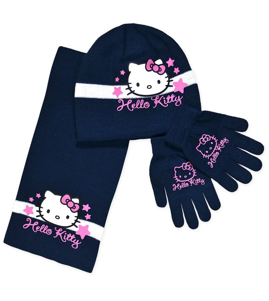 d82aea2e212 Official Girls Sanrio Hello Kitty Gloves
