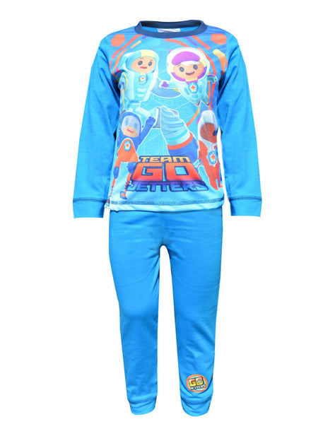 Boys Go Jetters Xuli Kyan Lars Foz Pyjamas Age 1.5 to 5 Years - Character Direct