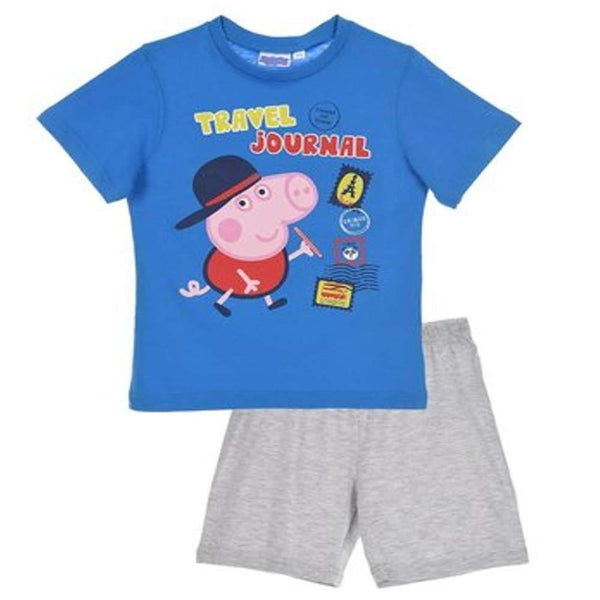 Boys Official Licensed Peppa Pig Short Pyjamas 2 to 8 Years - Character Direct