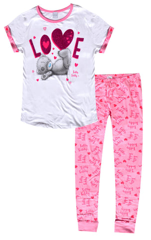Ladies Me to You Tatty Teddy Pyjamas UK Size 8 to 22 - CharacterDirect