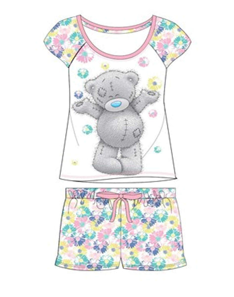 Ladies Me to You Tatty Teddy Short Pyjamas UK Size 8 to 22 - Character Direct
