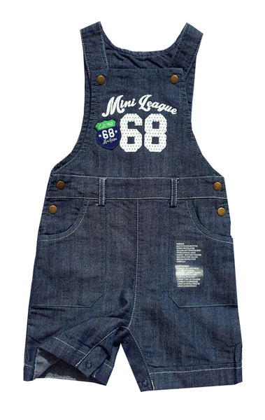 Lily & Jack Kids Applique Top and Denim Dungaree Set Age 6-24 Months - Character Direct