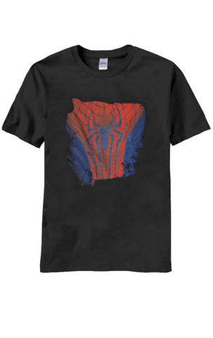 Mens Official Marvel Spiderman Print T-Shirt Top Size S,M,L,XL - Character Direct