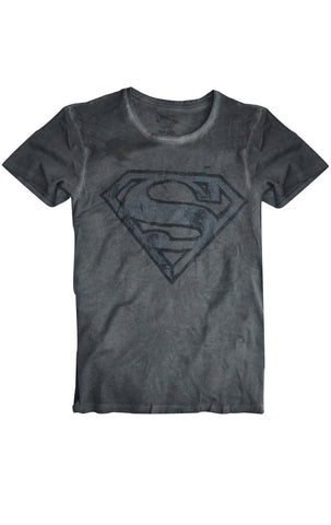 Mens Official Superman Logo Print T-Shirt Top Size S,M,L,XL,XXL - Character Direct