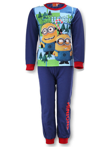 Boys Pyjamas Despicable Me Minions Long Length Pyjamas 4 years up to 12 years - Character Direct