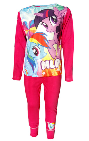 Official Girls MLP My Little Pony Pyjamas Age 4 to 10 Years - CharacterDirect