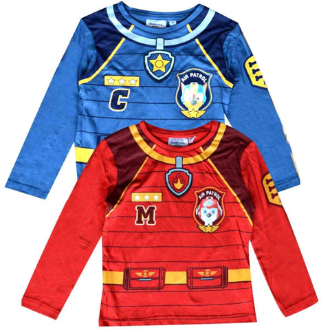 Paw Patrol Boys Costume Print Tshirt Top - Character Direct