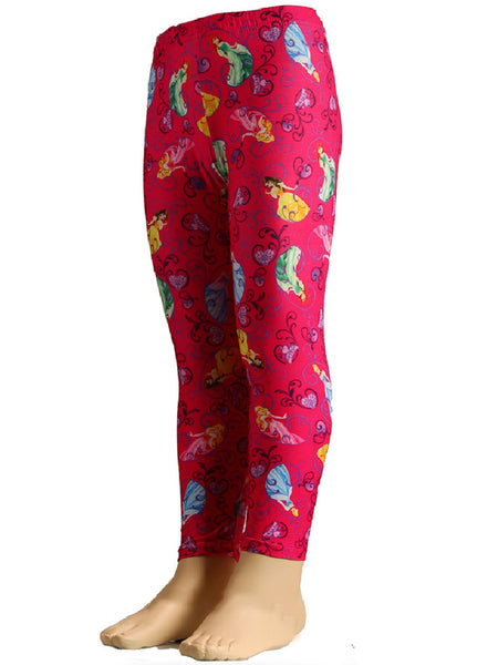 Disney Girls Kids Princess Legging - Character Direct