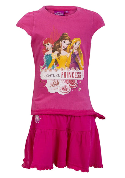 Disney Princess Girls Top and Skirt Set Age 2 to 6 Years - Character Direct