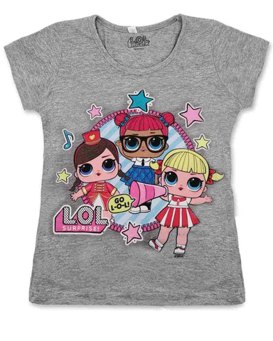 Girls LOL Surprise Cotton Tshirt