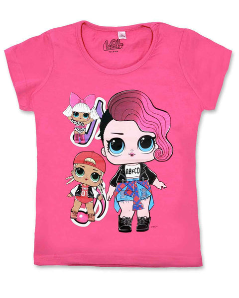 Girls LOL Surprise Cotton Tshirt - Character Direct