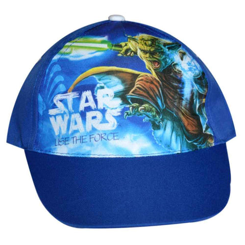Official Star Wars Boys Baseball Hat Age 2 to 8 Years