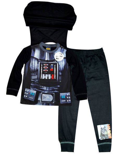 Boys licensed Official Star Wars Novelty Pyjama With Cape  2 to 8 Years - Character Direct