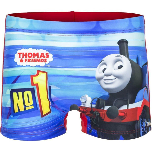 Boys Official Licensed Thomas Print Swim Shorts Age 2 to 5 Years - Character Direct