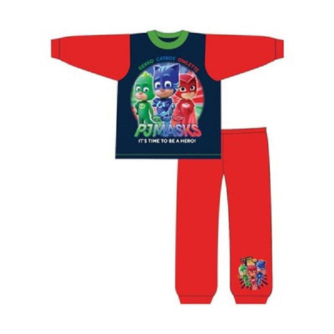 Boys PJ Masks Catboy Owlette Gekko Pyjama Age 1 to 5 Years - Character Direct
