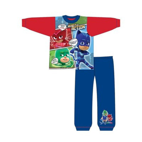 Boys PJ Masks Catboy Owlette Gekko Pyjama Age 1-5 Years - Character Direct