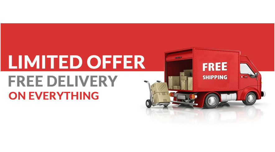 Limited Time Offer Free Delivery