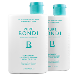 Suntamed Sunscreen & Body Oil SPF 15 - Duo