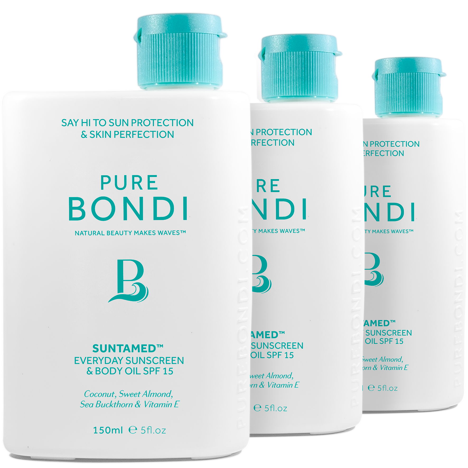 Suntamed Sunscreen & Body Oil SPF 15 - Trio