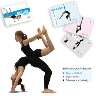 Burner Acrobatics Activity Cards mit Sleeves (D/F)