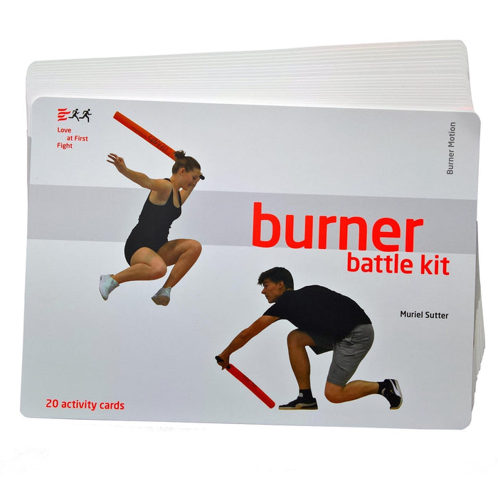 Burner Battle Kit Activity Cards mit Sleeve