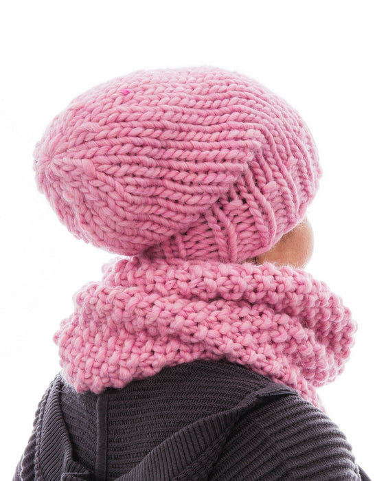 Hot Snood in Strawberry Shake