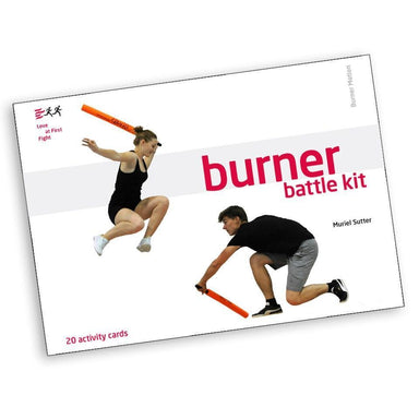 Burner Battle Kit Activity Cards mit Sleeve (D/F)