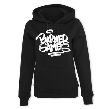 Ladies Burner Games Hoodie black