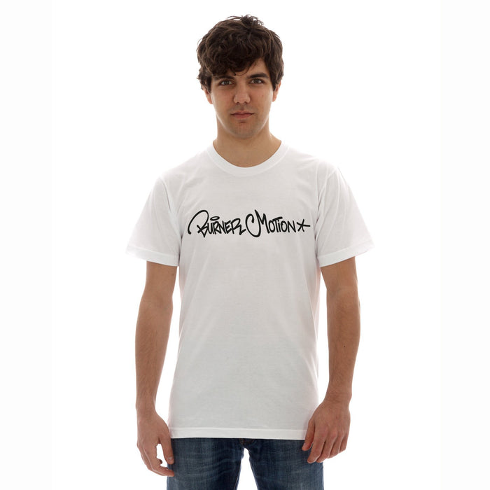 Men`s Classic Graffiti Tee white